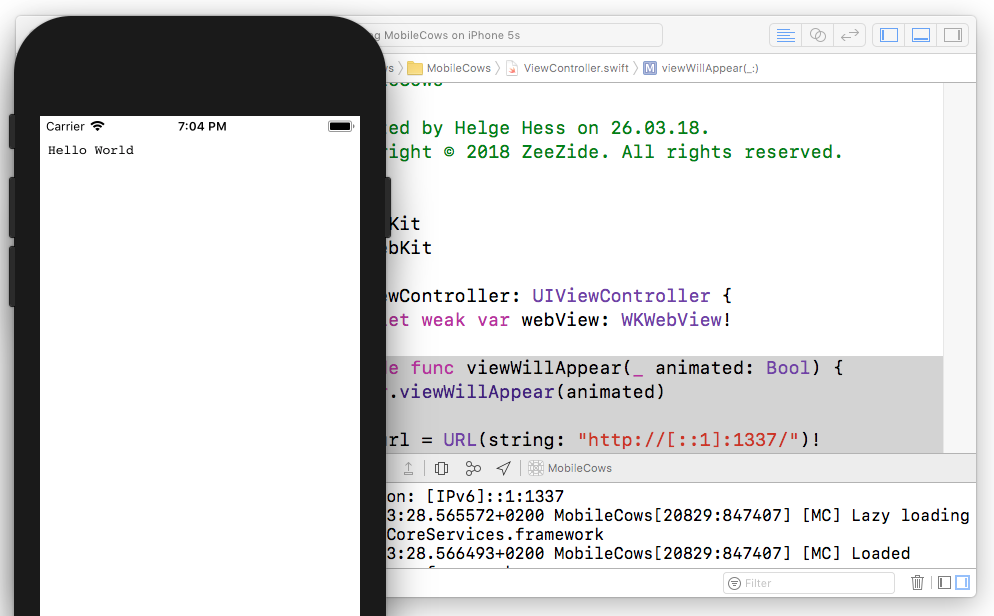 Bringing Swift NIO to the iPhone – The Always Right