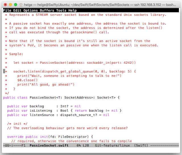 Testing Linux Swift 2 2 on MacOS via VirtualBox – The Always Right
